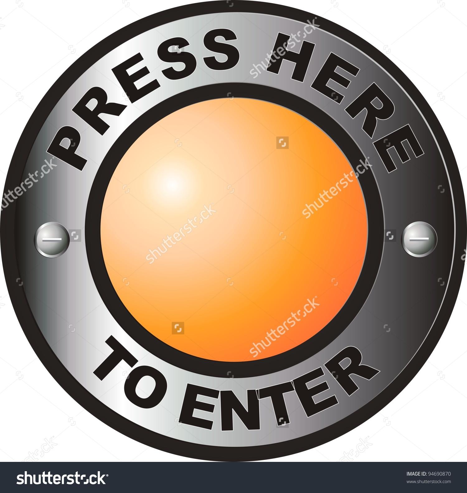 Press Here Enter Stock Illustration 94690870.