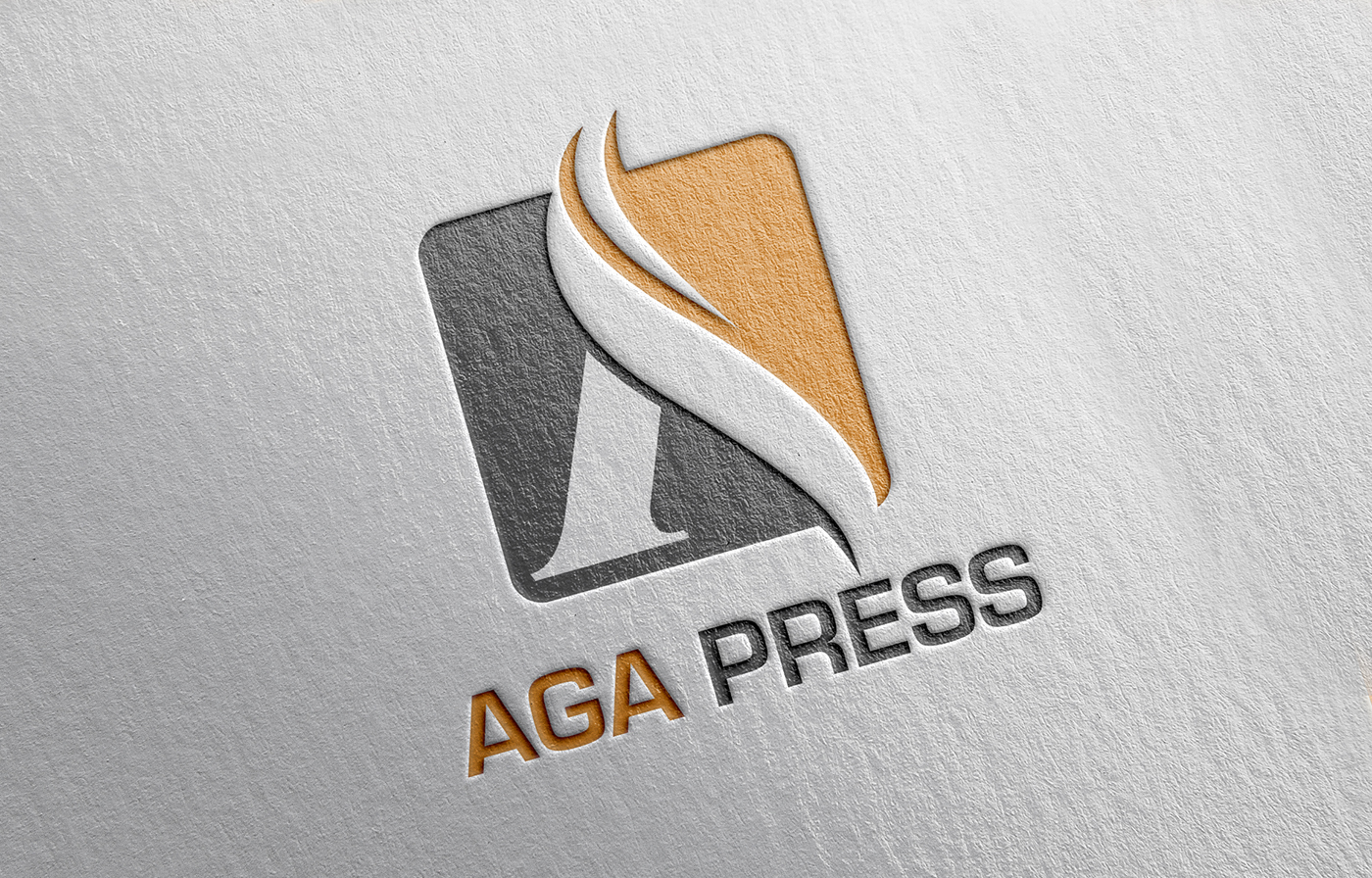AGA Press Logo & Website Design on Behance.