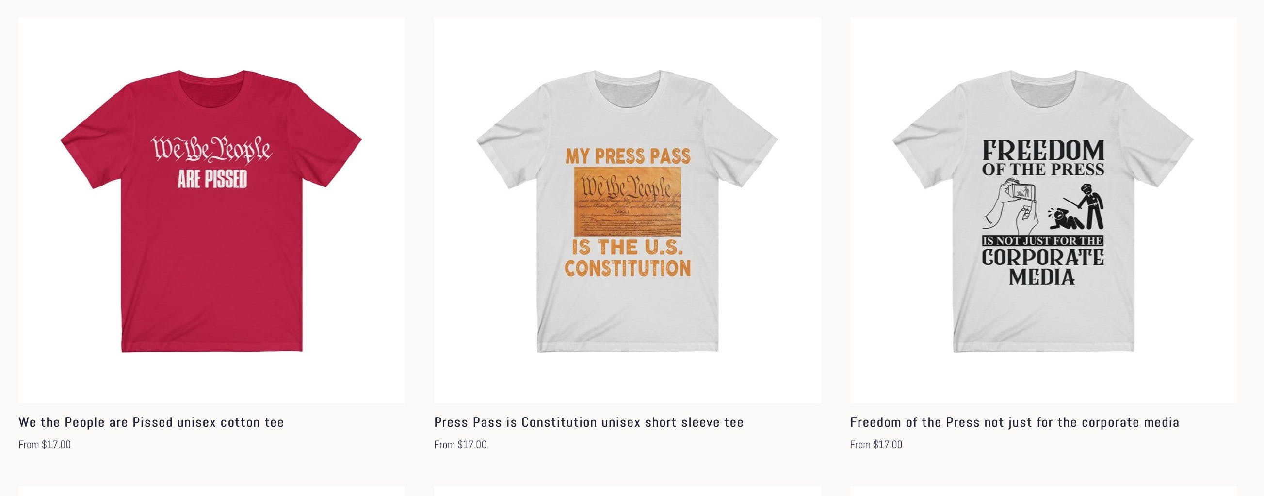 PINAC Merchandise Shop is Back with New Designs; Press.