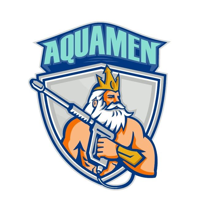 AQUA MEN! Create a unique logo for a Pressure Washing.