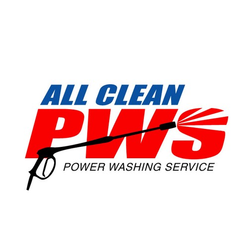New Logo for a Pressure Washing Service Company.