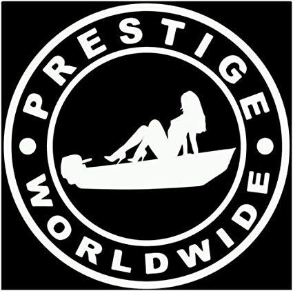 Prestige worldwide boats and hoes Jon boat skiff decal sticker (8\