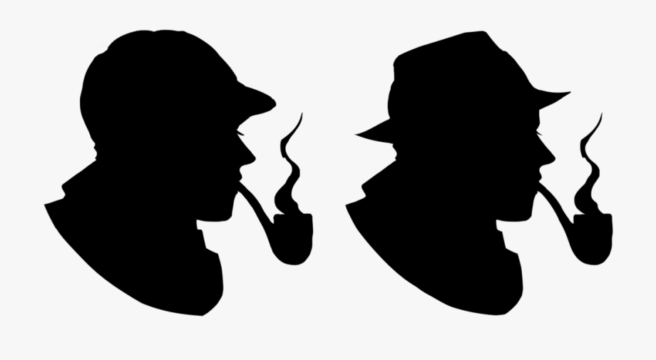 Pretentious Detective Images Free Silhouette Download.