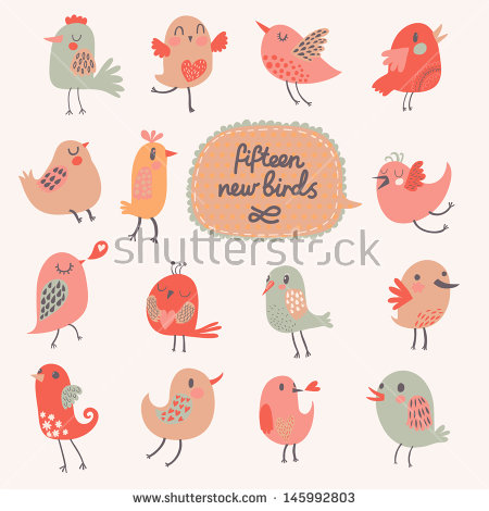 Pretty bird clipart #12
