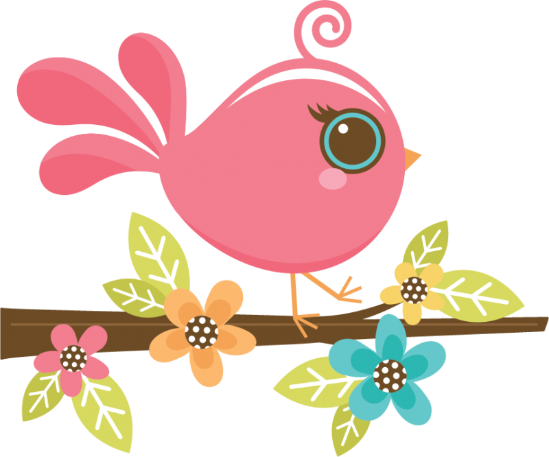 Showing post & media for Pretty bird clip art cartoon.