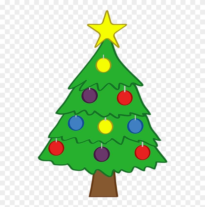 Tree Cute Christmas Clipart.