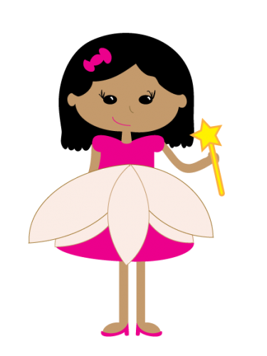 Pretty Princess Clipart.