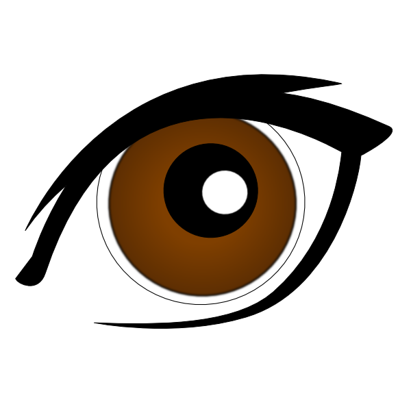 Pretty Eyes Clipart.