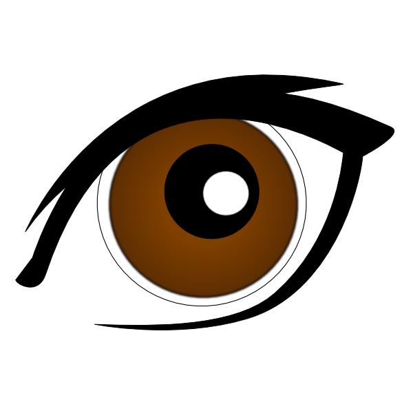 Pretty Eyes Clipart.