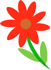 Pretty Flower Clip Art at Clker.com.