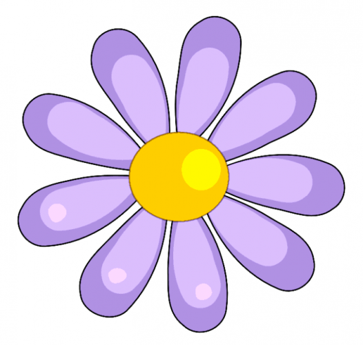 Pretty Flowers Clipart.