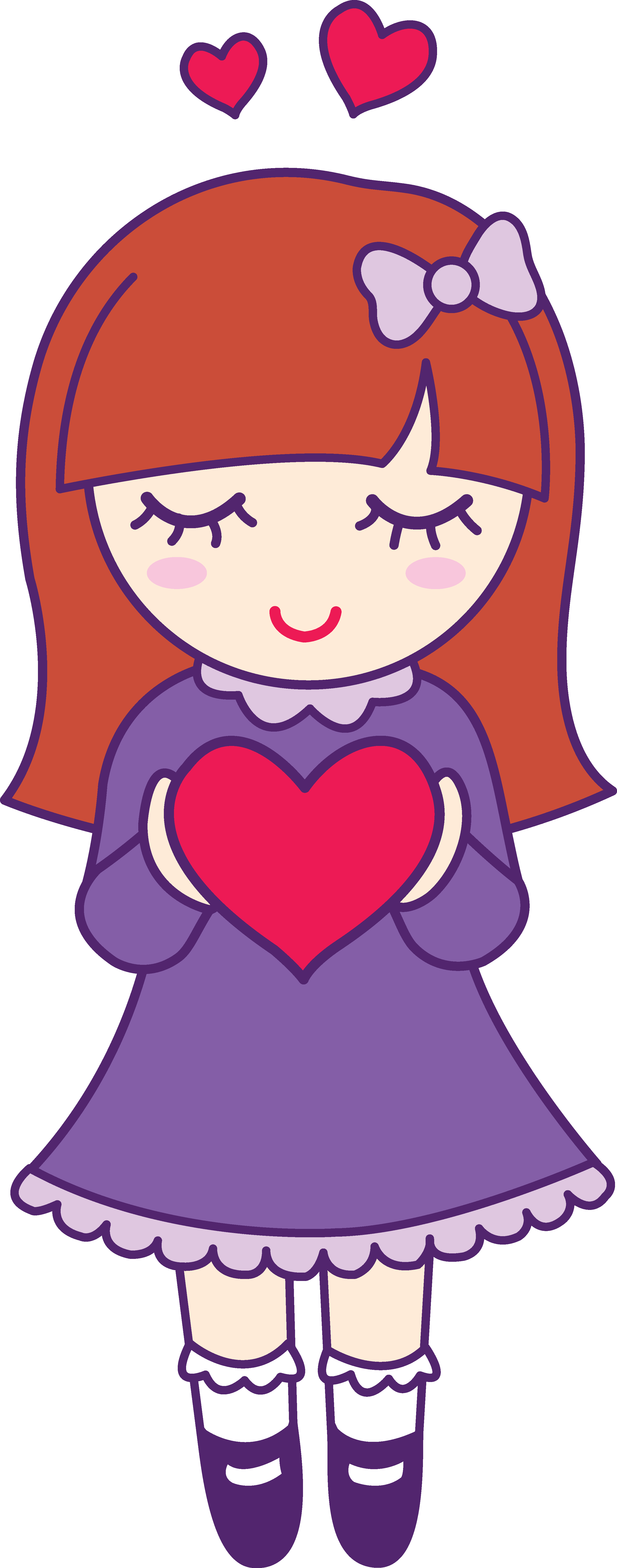 Pretty girl clip art clipart images gallery for free.
