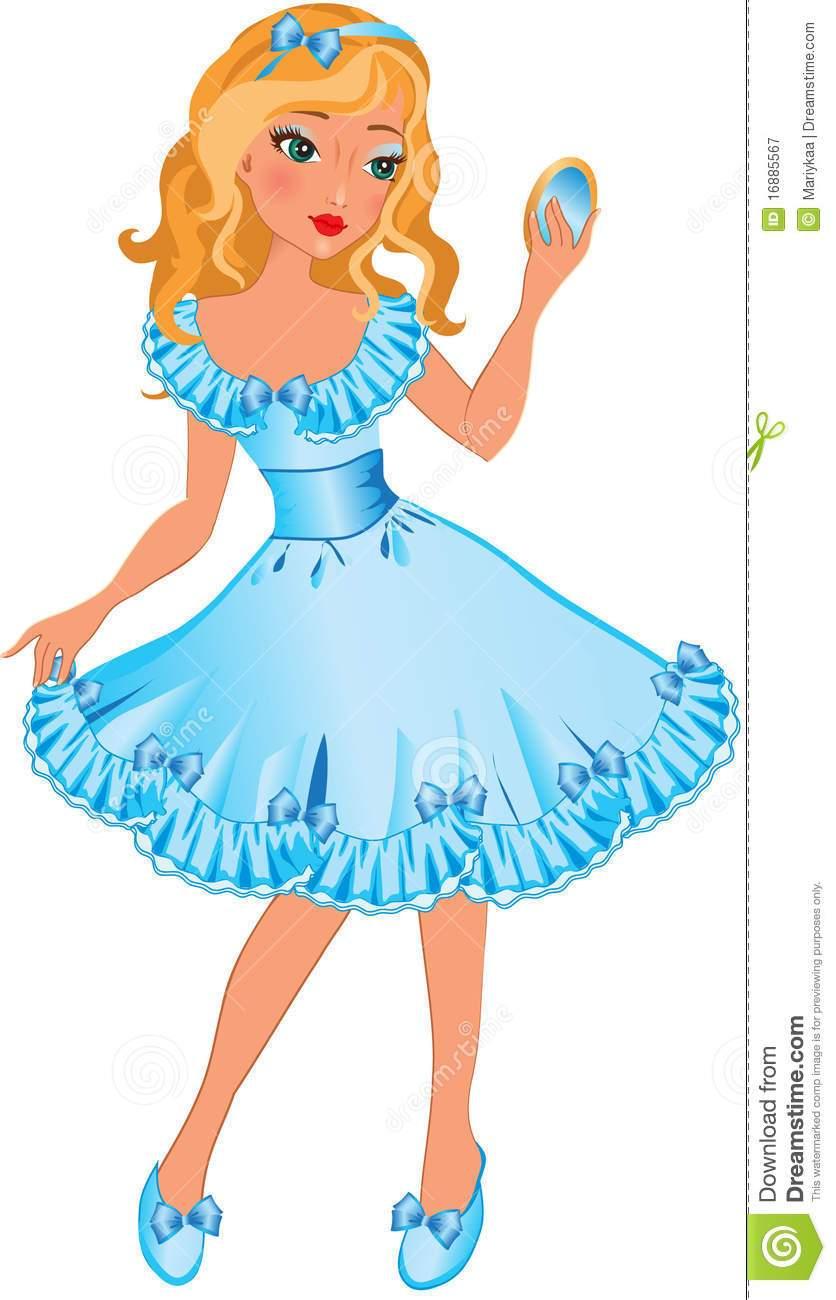 Pretty little girl clipart 7 » Clipart Portal.