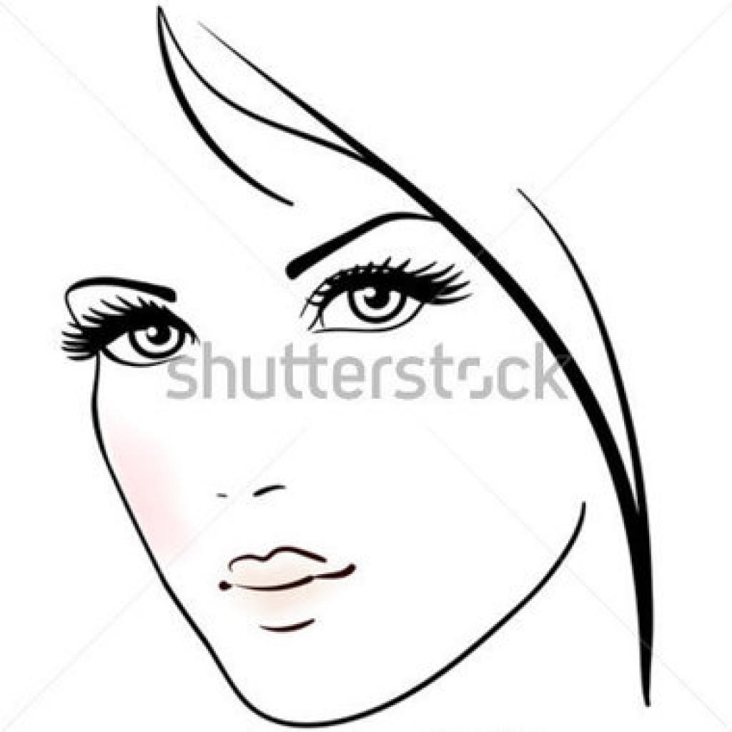 Beautiful Face Hd Clipart.