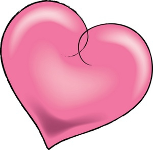 Pretty Heart Clipart#2031307.