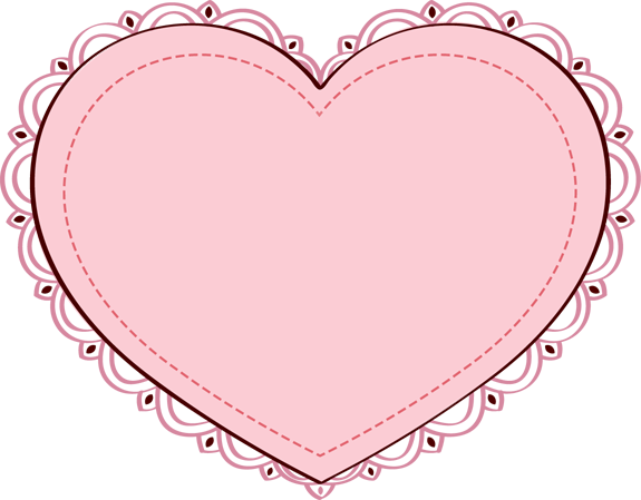 Pretty Heart Clipart.
