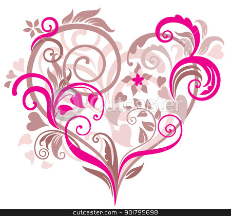 pretty heart clipart clipground