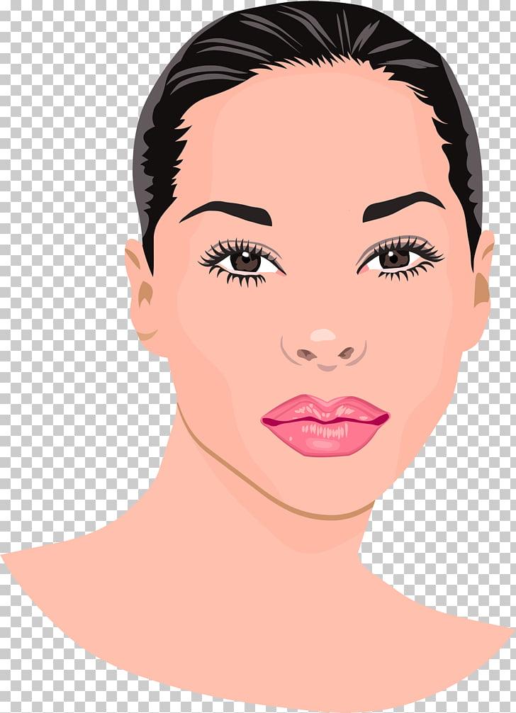 Portrait Woman , Pretty Lady s PNG clipart.