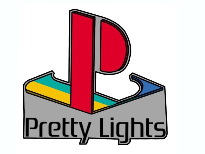 Pretty Lights Retro logo by Jeremey Burch on Dribbble.