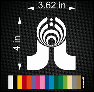 Details about BASSLIGHTS Pretty Lights Bassnectar vinyl decal sticker for  DJ car truck window.