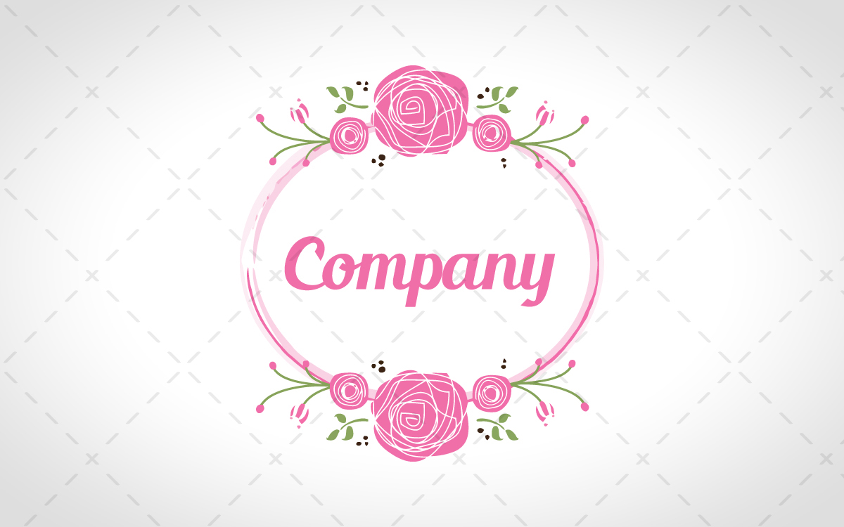 Pretty logo for sale.