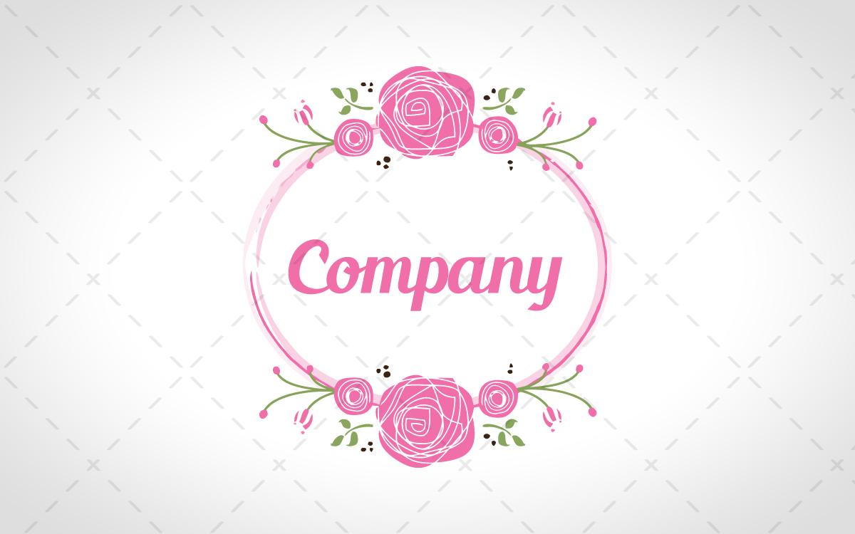 Pretty logo for sale.