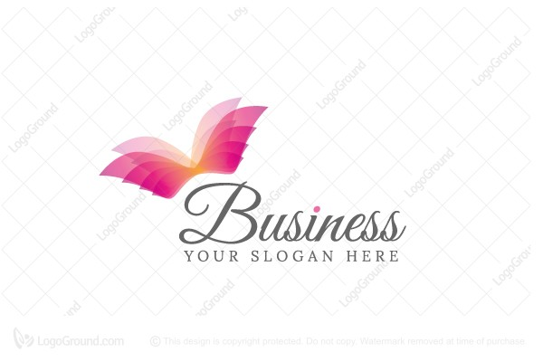 Exclusive Logo 170839, Pretty Wings Logo.