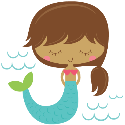 Cute mermaid clipart clipart images gallery for free.