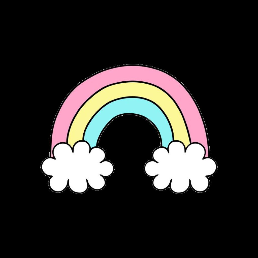 rainbow cute png cloud rainbows clipart rainbowclipart.