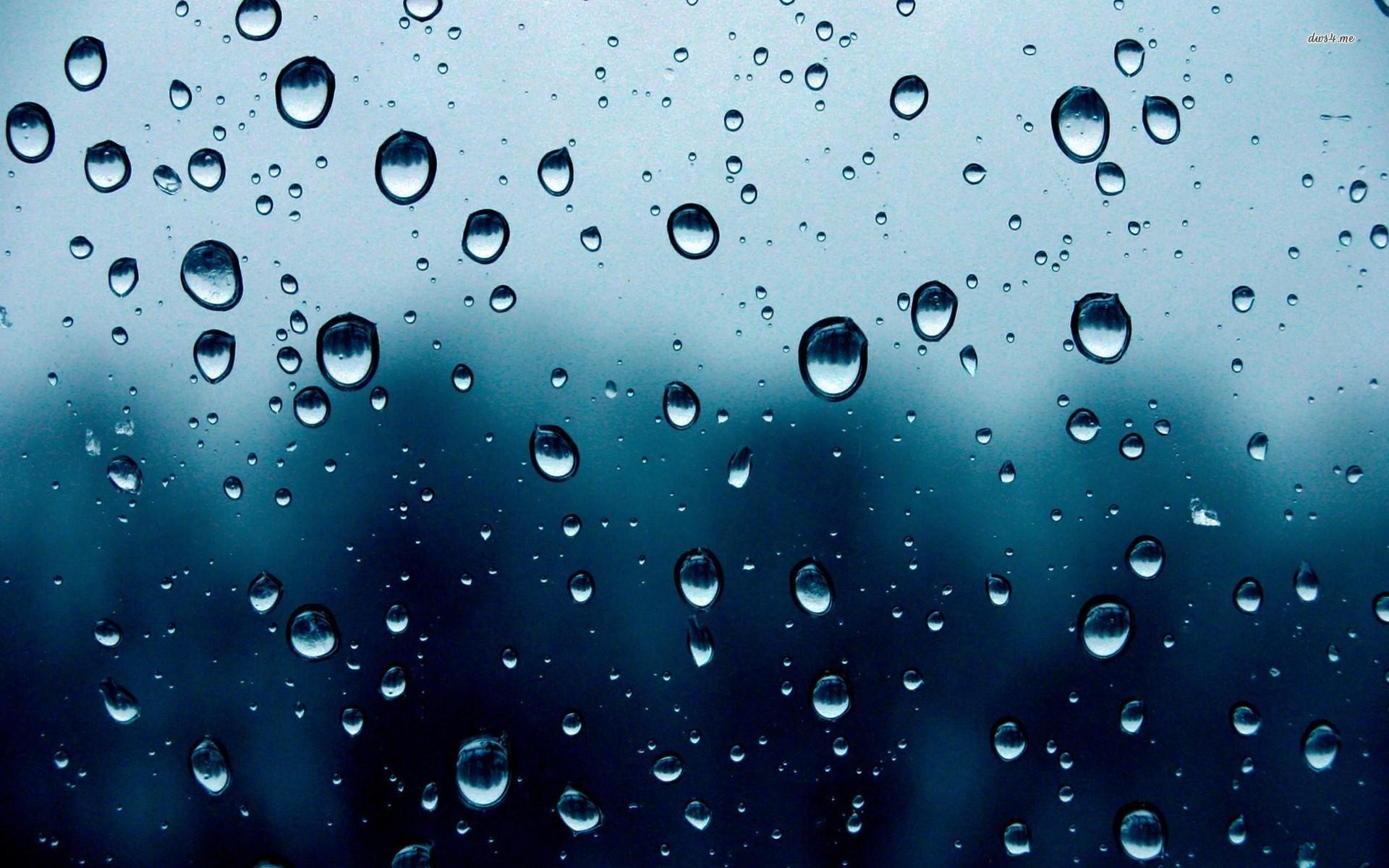 Raindrops Wallpaper.
