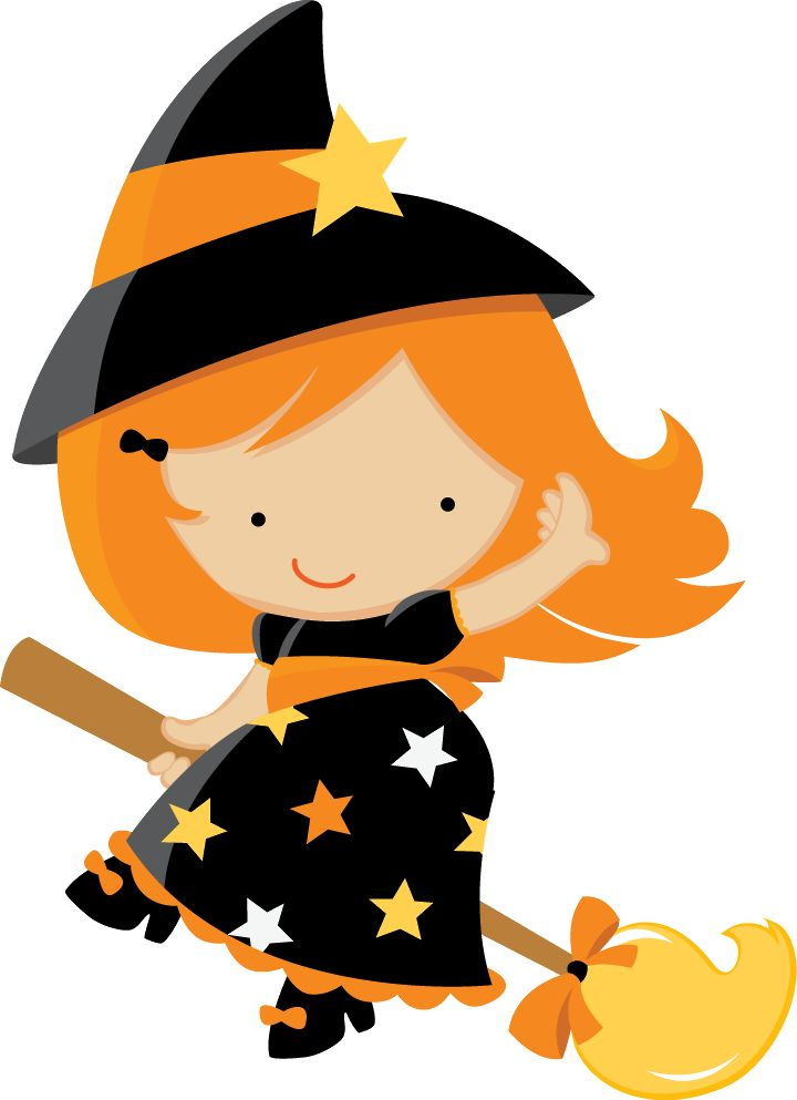 104+ Halloween Witch Clipart.