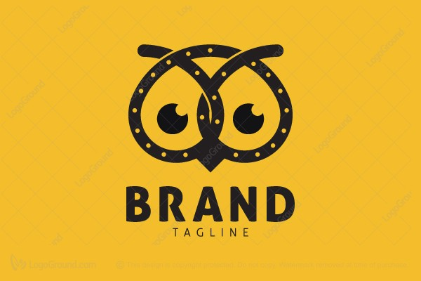 Exclusive Logo 121924, Pretzel Owl Logo.