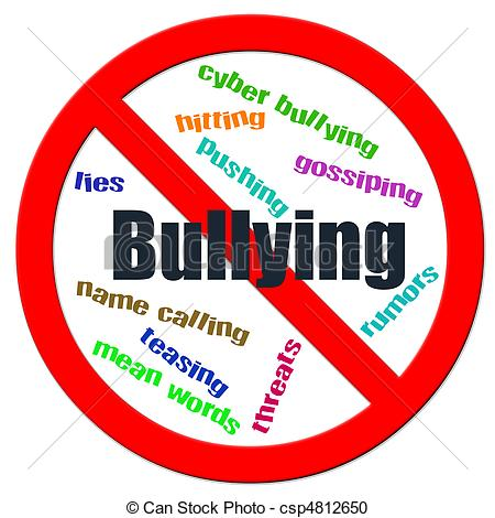 Stop Bullying Clipart.