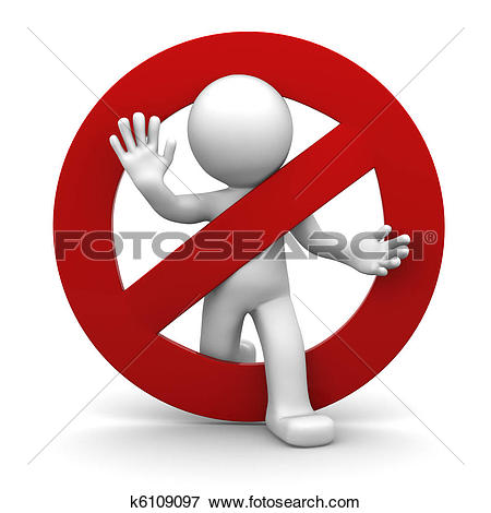 Clipart of Stop sign k6622781.