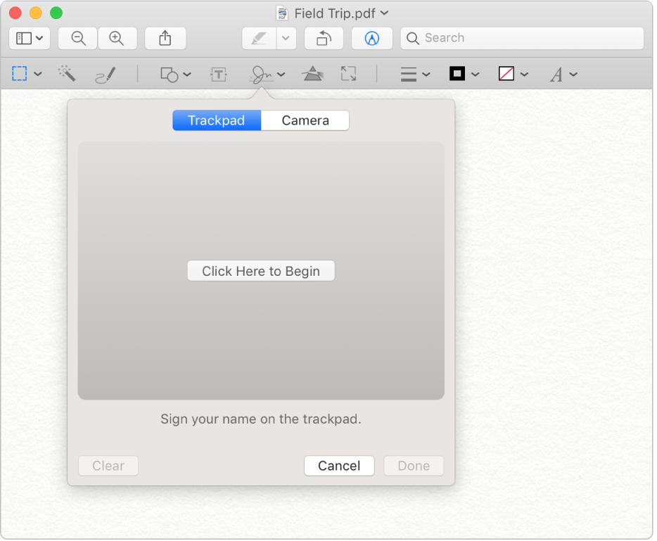 Welcome to Preview on Mac.