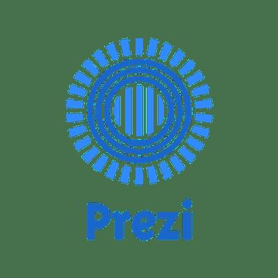 Prezi Logo transparent PNG.