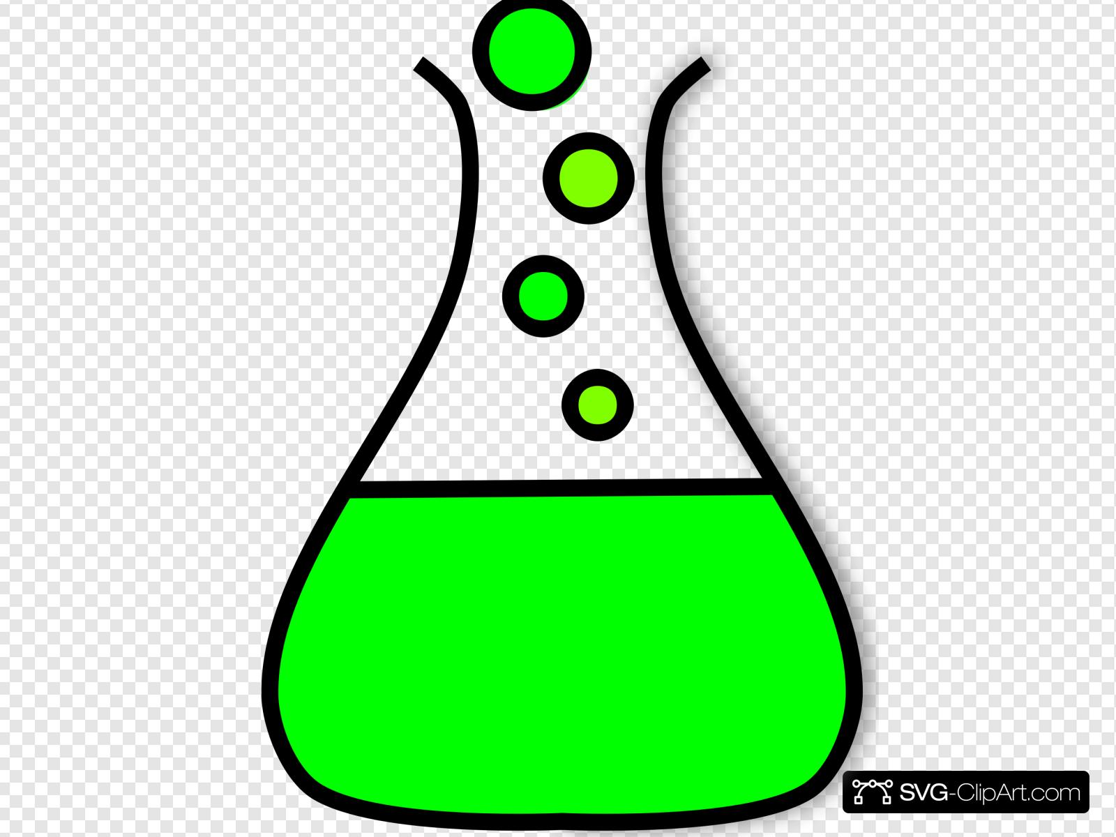 Beaker Green Bubble Prezi 2 Clip art, Icon and SVG.