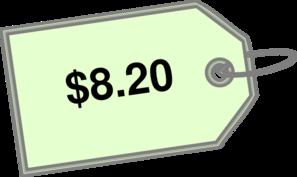 8 Twenty Price Clip Art at Clker.com.