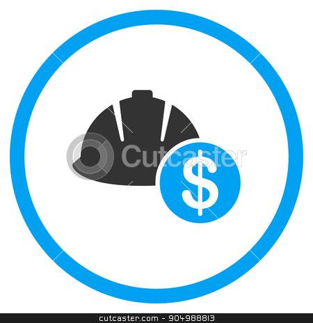 Development Price Icon stock vector.