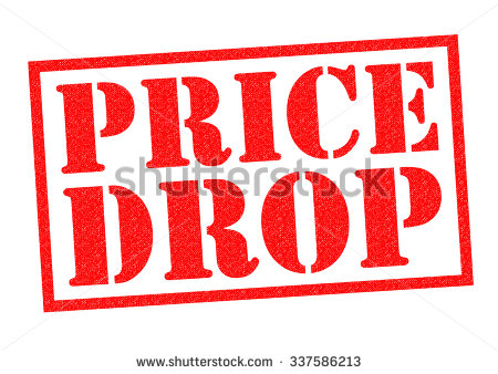 Price Drop Stock Images, Royalty.