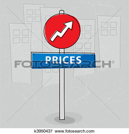 Clip Art of Business increase k20501747.