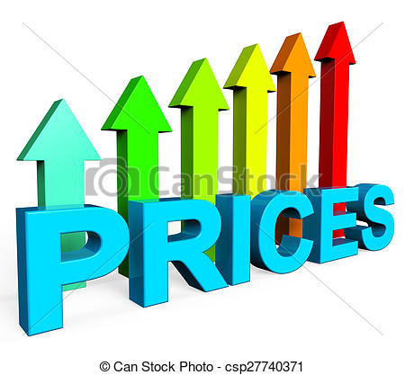Price hike clipart.