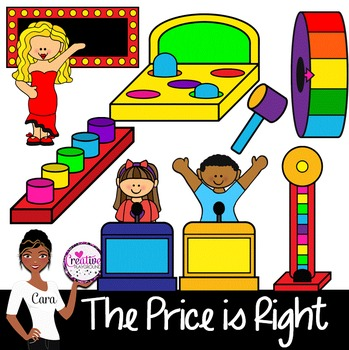Clip Art~ The Price is Right Game Show Fun! in 2019.