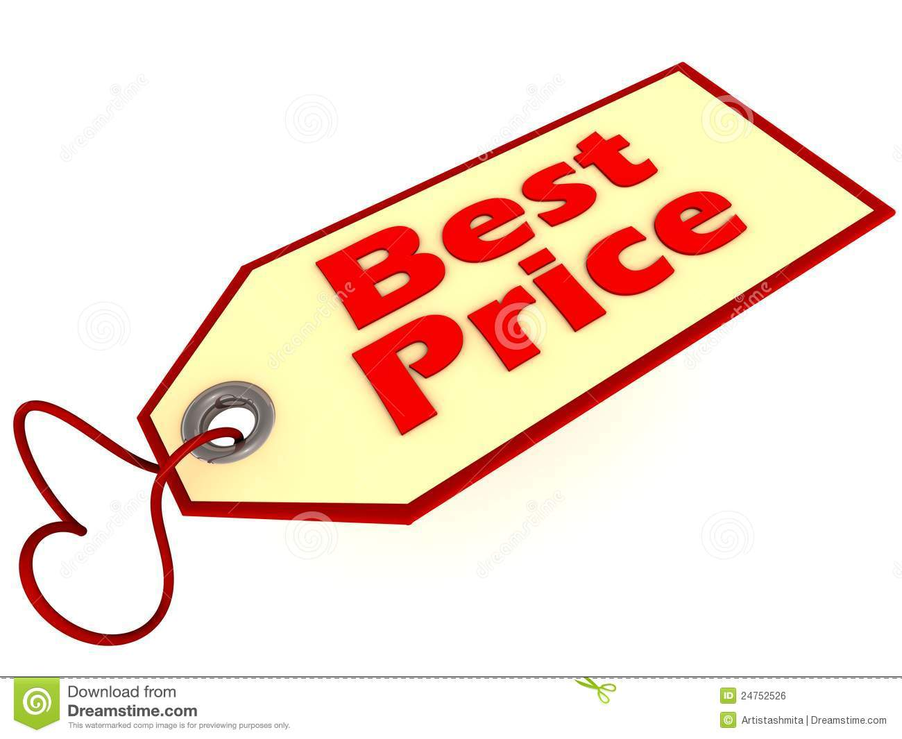 Best Price Label Tag Royalty Free Stock Image.