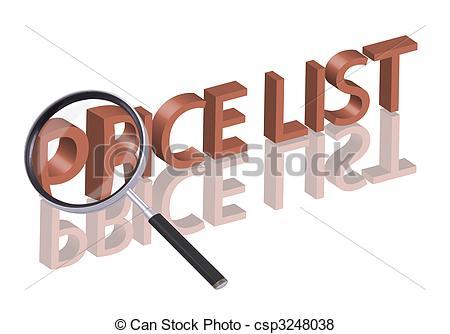 Price list Stock Illustrations. 3,716 Price list clip art images.