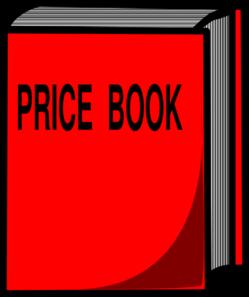 Clip Art Price List.