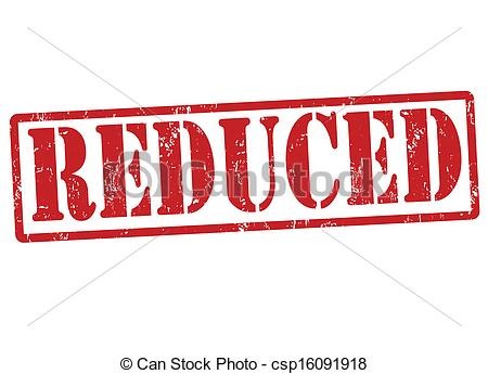 Price reduced clipart.