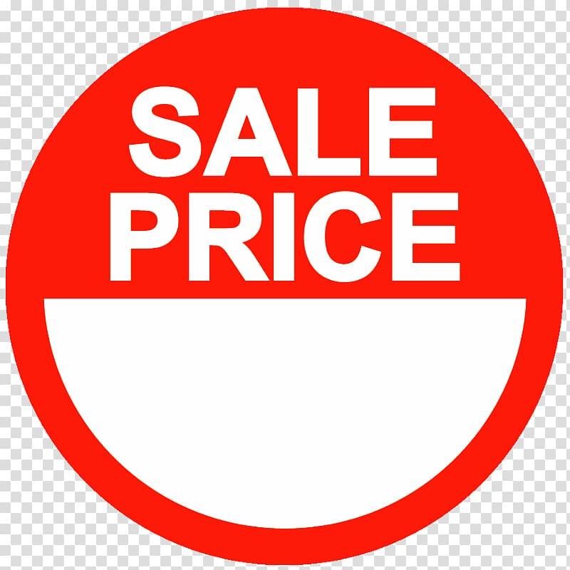 Paper Sticker Price tag Label, sale lable transparent.