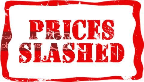 PRICES SLASHED! UP TO 75% off.