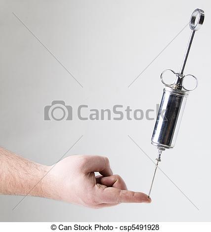 Pictures of Needle prick.